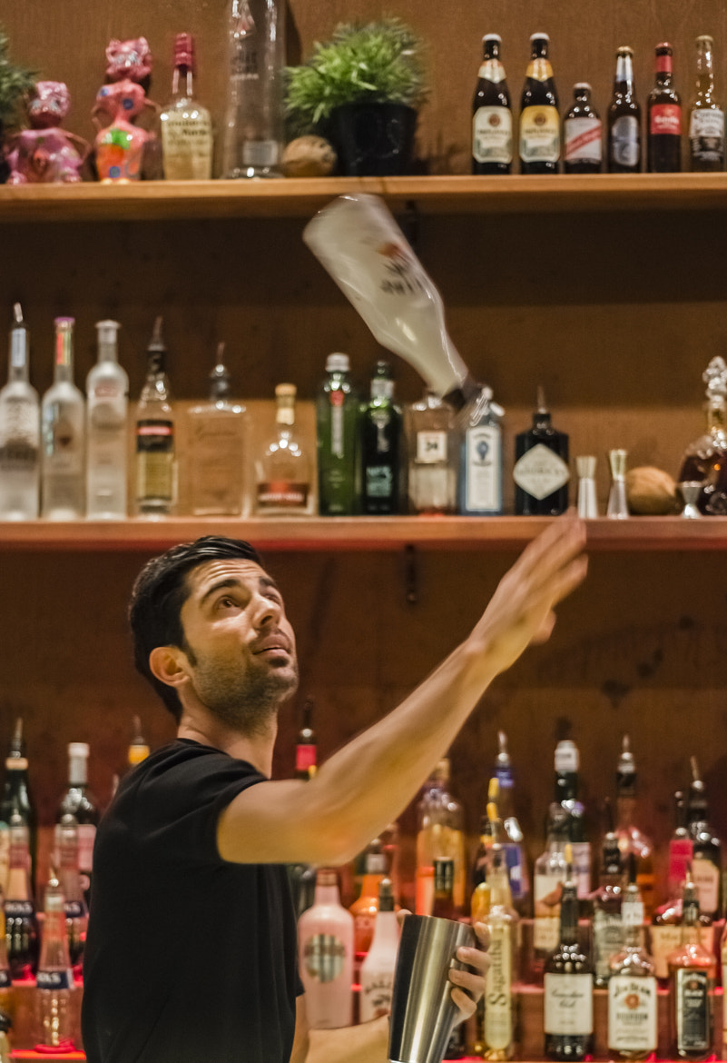 Photograph Flair for bartending by Klaus Dreyer on 500px