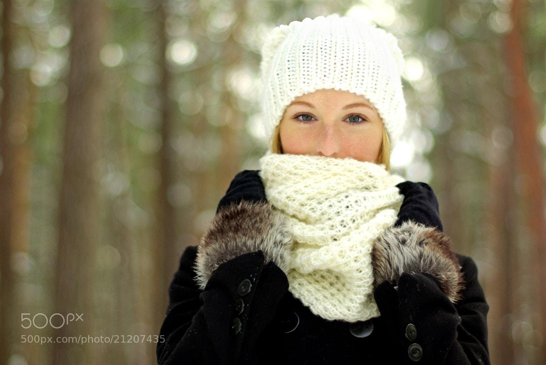 Photograph Winter portret by Ieva Midziņa on 500px