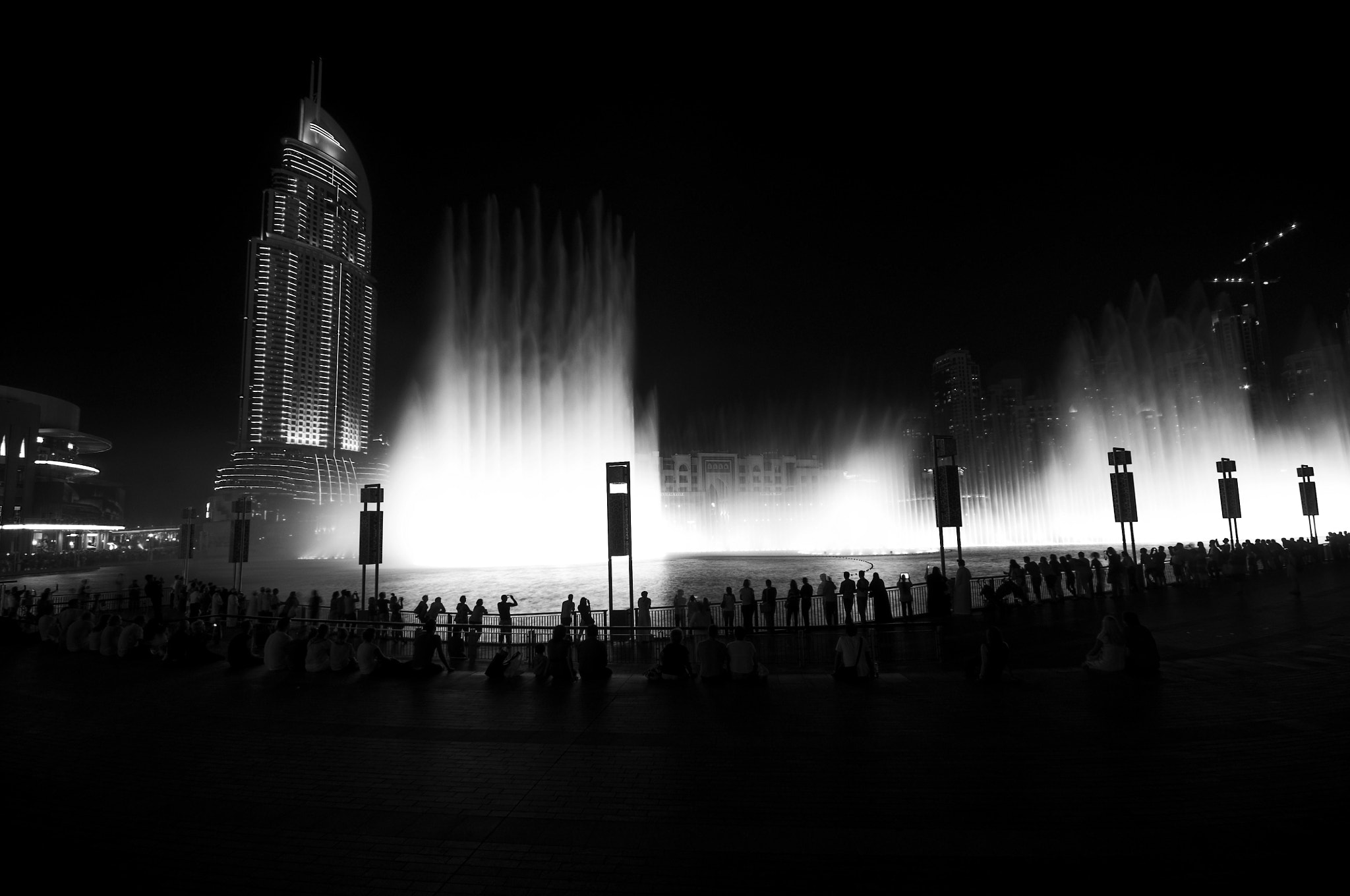 Photograph Dubai Fountain, Burj Khalifa by Dany Eid on 500px