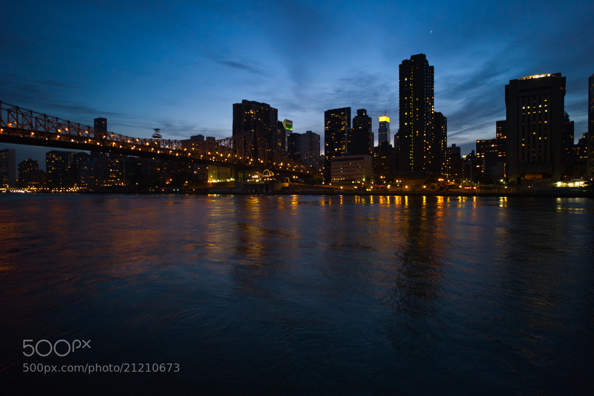 Photograph East Side Manhattan, 59th St by Felix L. Esser on 500px