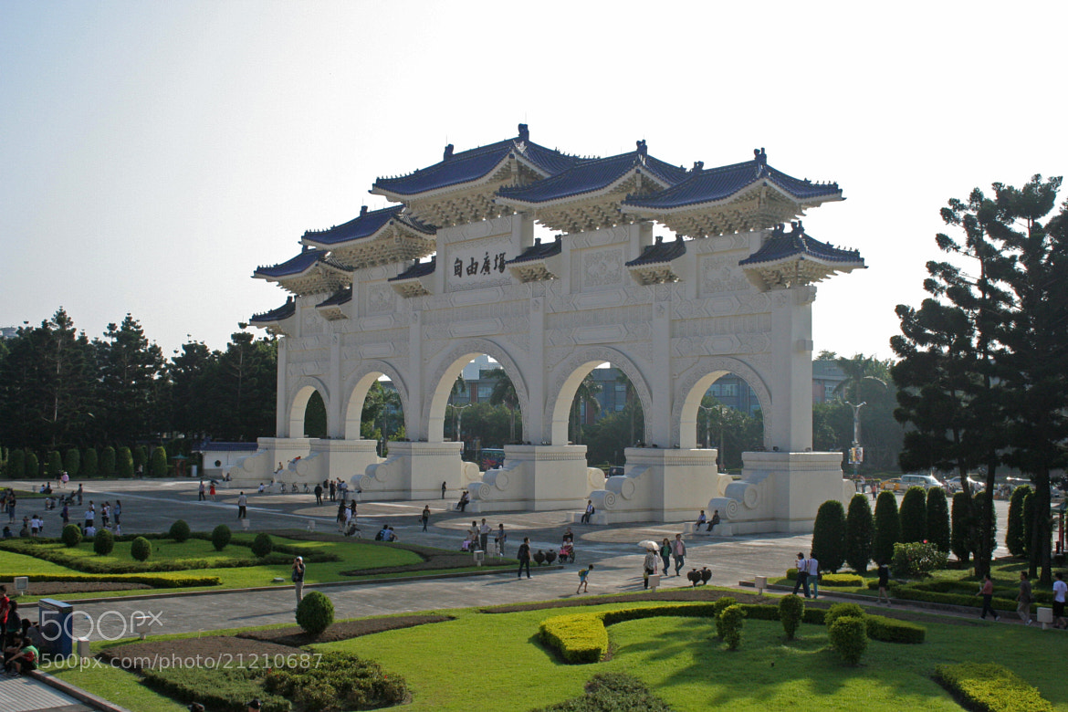 Photograph Chiang Kai-Shek Memorial Taipei by Roy Scholte on 500px