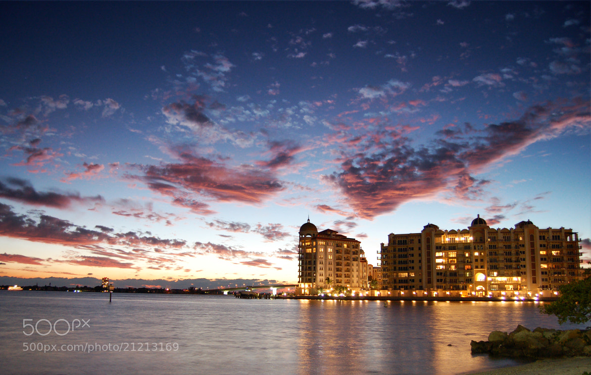 Photograph Dusk in Sarasota by Max Spiker on 500px