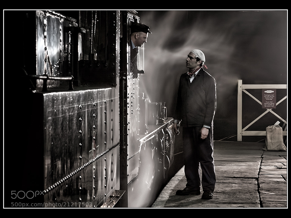 Photograph The Enginemen by Les Auld on 500px