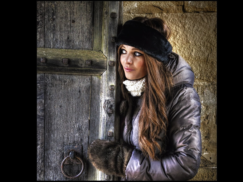 Photograph Lady It's Cold Outside by Les Auld on 500px