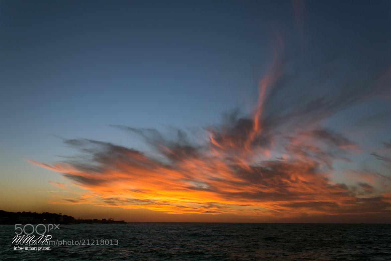 Photograph Sunset Alexandria Coast by Mohamed Moustafa ( ABDO ) on 500px