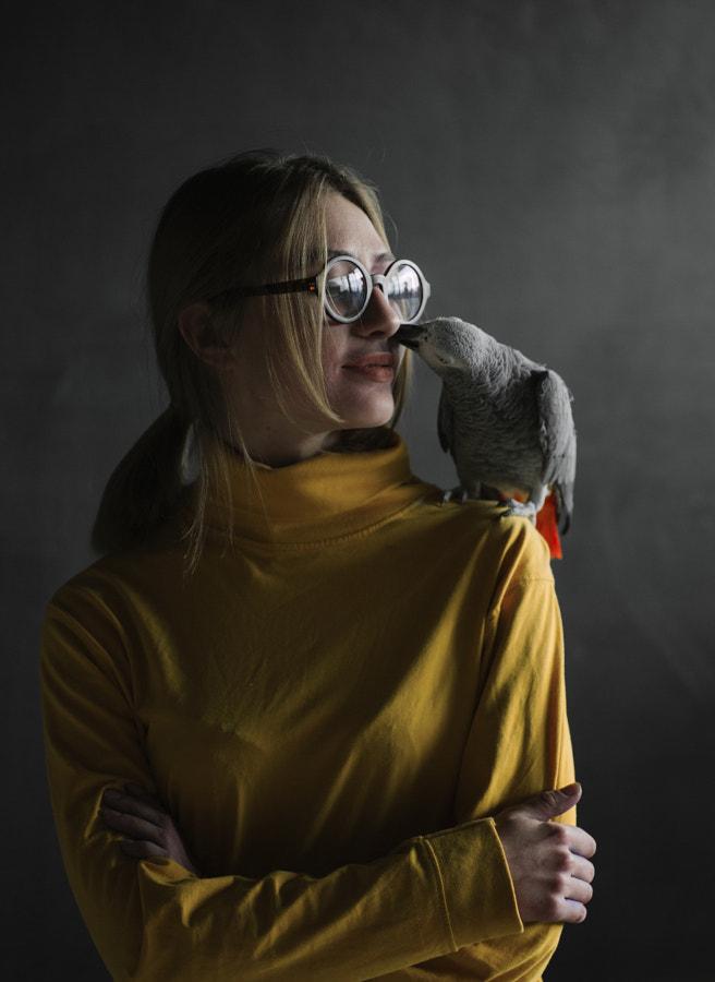 portrait by Marta Syrko