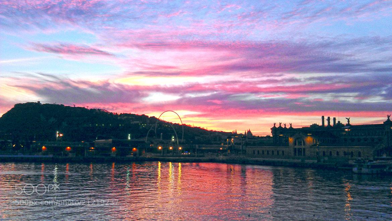 Photograph Sunset @ Port Vell, Barcelona, Spain by Martýn Alexandro on 500px