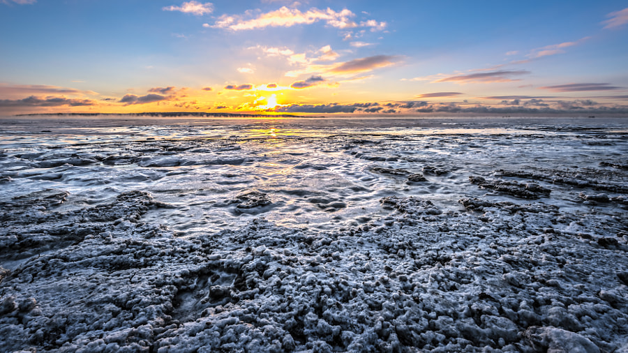 The St-Laurence Seaway in Winter by Roch Aumont on 500px.com