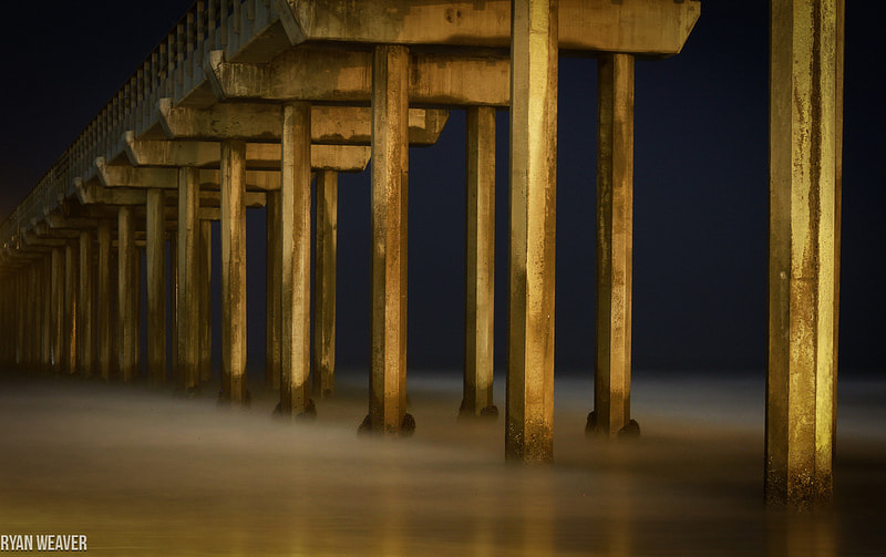 Photograph Golden Pier by Ryan Weaver on 500px