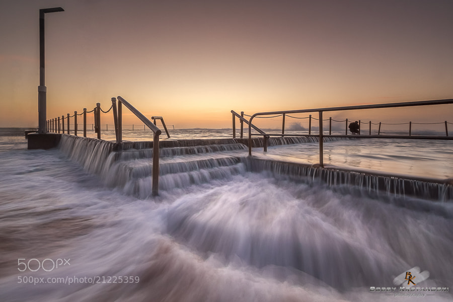 Photograph Mona Vale Rock Pool [Explored] by Bobby Krstanoski on 500px
