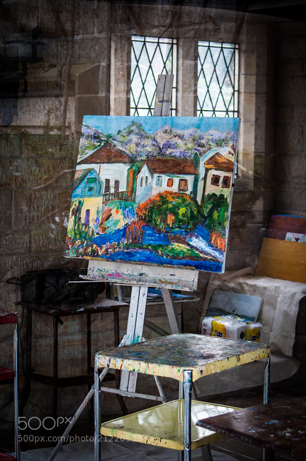 Art class on hold for Christmas (Ford Mansion property)