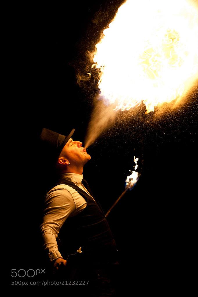 Photograph Firebreather by Tit Bonač on 500px
