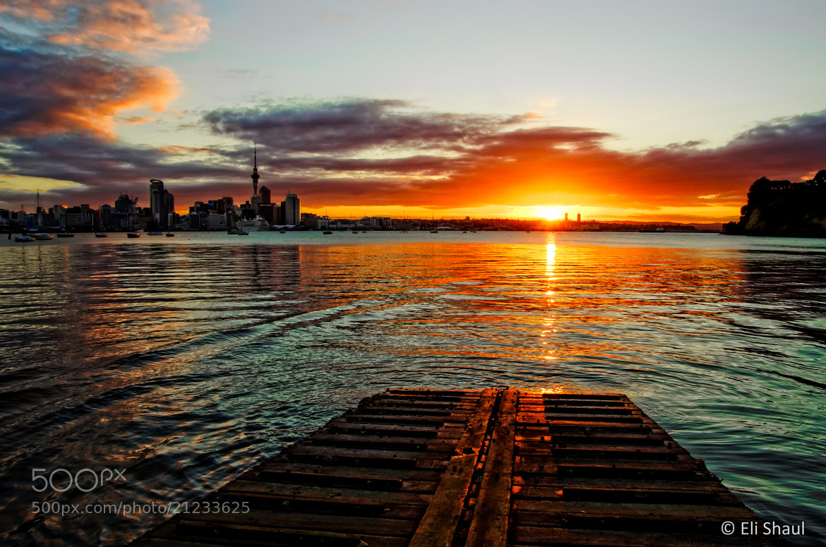 Photograph Sunset from Stanley Bay wharf by Eli Shaul on 500px