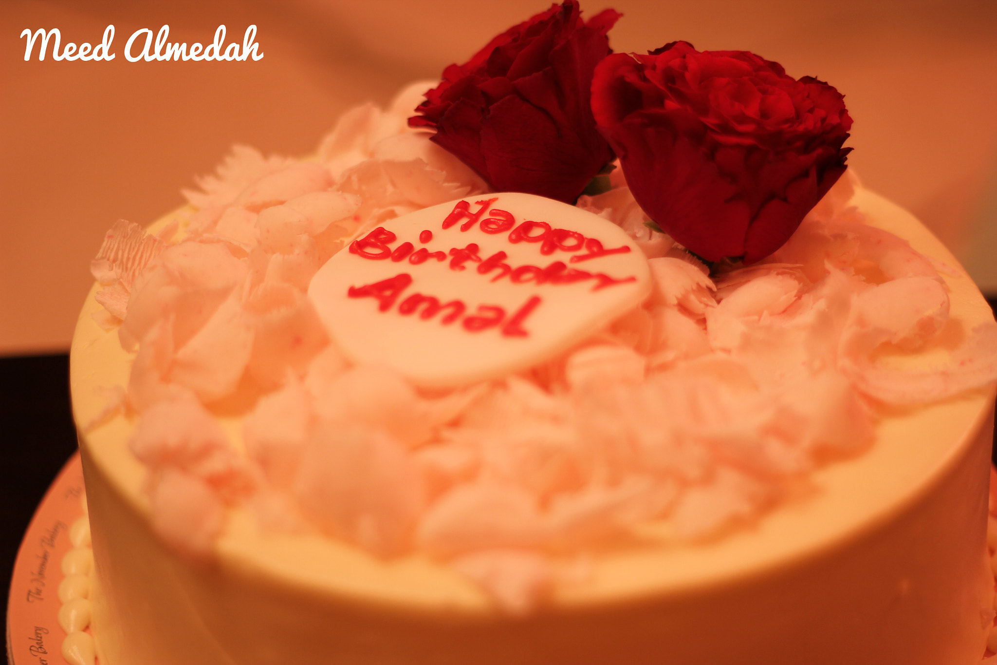 Photograph Birthday Cake My Sister Amal by Meed Almedah on 500px