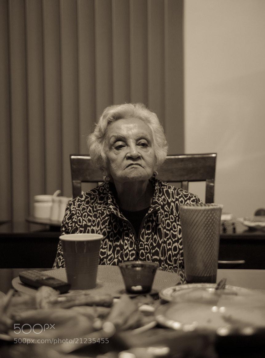Photograph Grandma <3 by Raúl Moctezuma on 500px