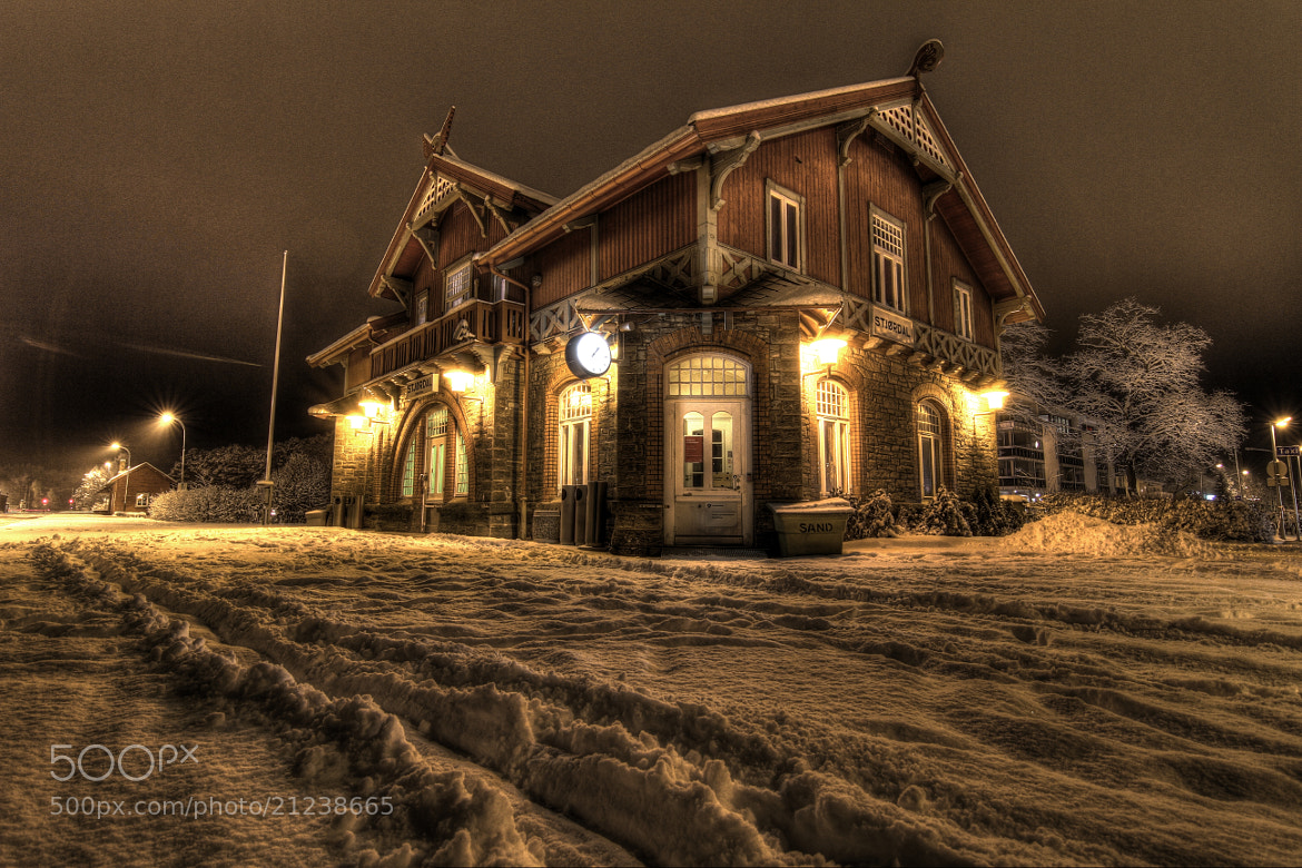 Photograph Trainstation in norway by Hallvor Lillebo on 500px