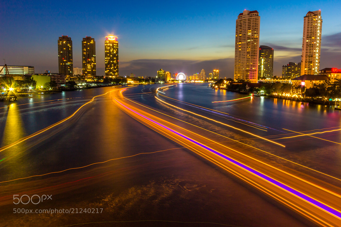 Photograph Sathorn Bridge-Bangkok by Anne Hannah (Lwin) on 500px