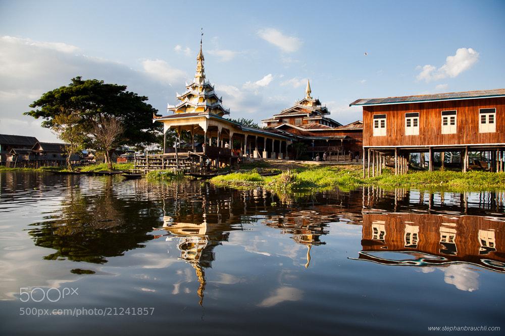 Photograph Floating Pagoda by Stephan Brauchli on 500px