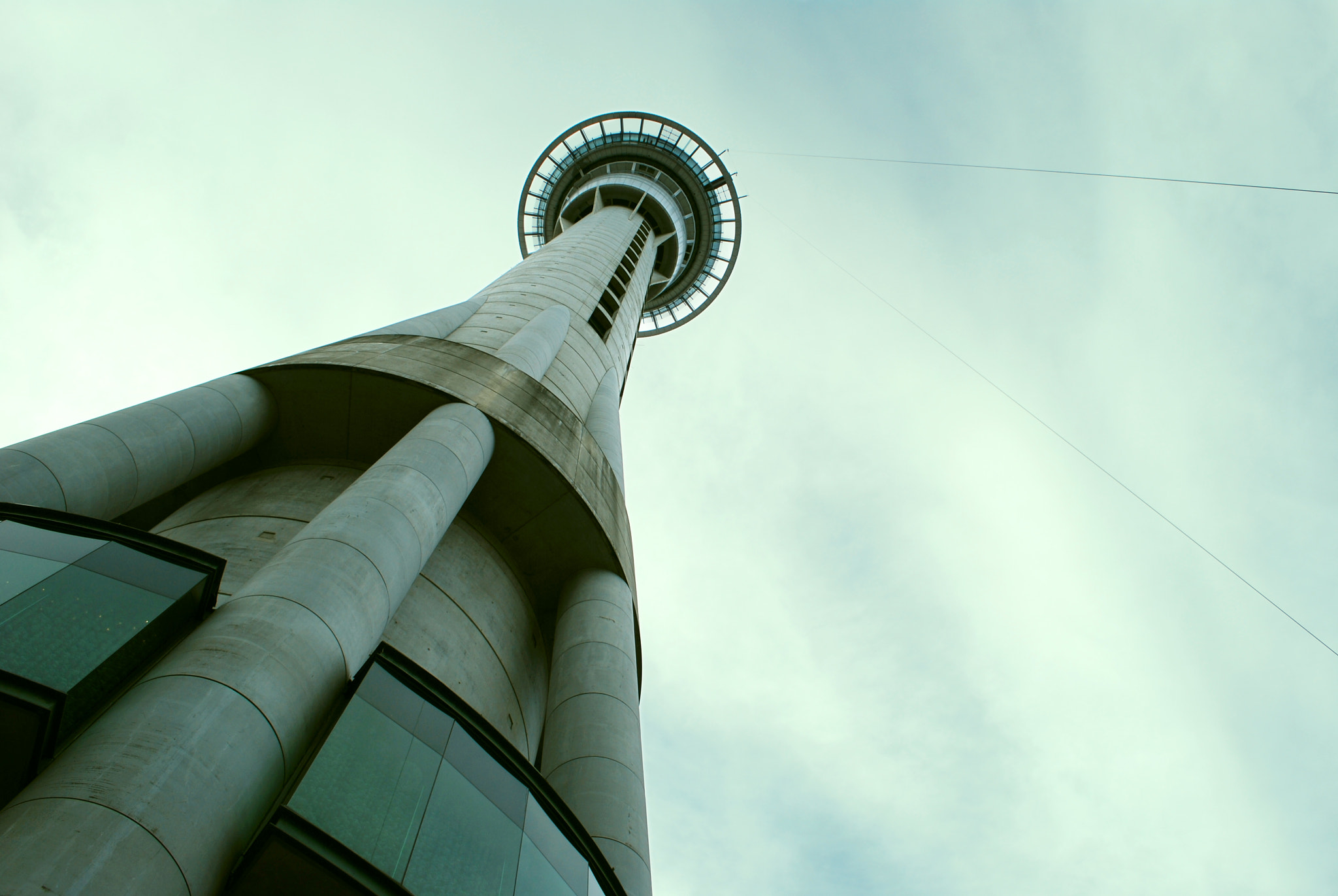 Photograph Sky Tower by Masood Khan on 500px