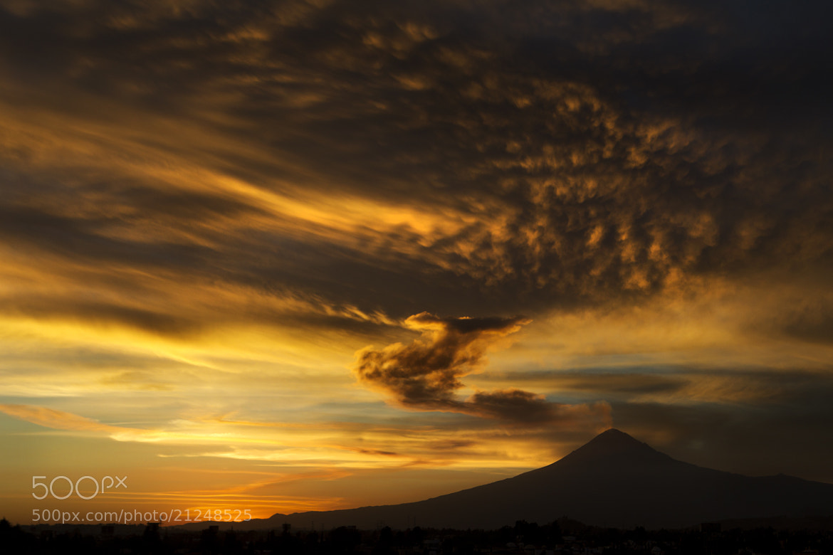 Photograph Volcano and sunset by Cristobal Garciaferro Rubio on 500px