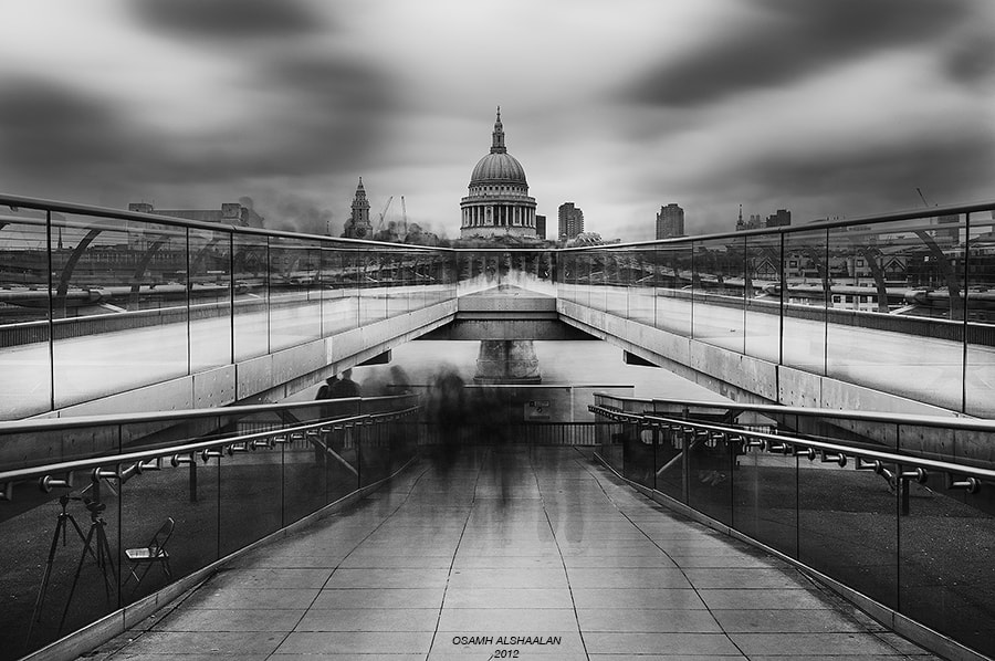 Photograph Millennium Bridge by Osamh Alshaalan on 500px