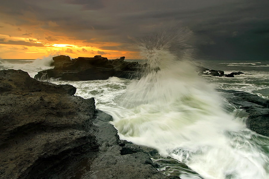 Photograph Angry Ocean  by Agoes Antara on 500px