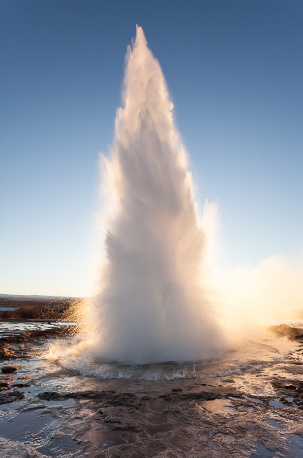 Photograph Strokkur by John Q on 500px