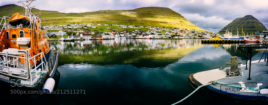 Klaksvik Port - Faroe Islands