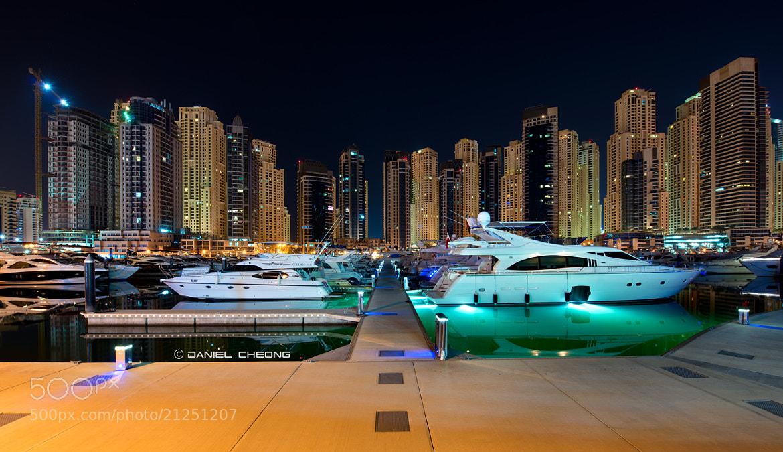 Photograph Dubai Marina, 5am by Daniel Cheong on 500px