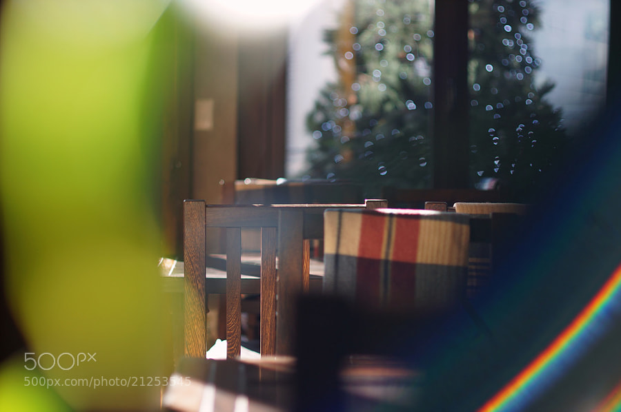 Photograph Cafe RainBow  by 300won on 500px