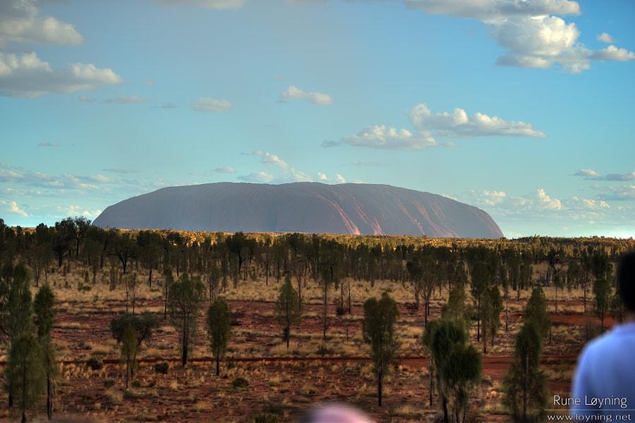 Uluru in the sun