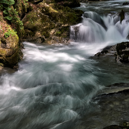 natural mountain stream
