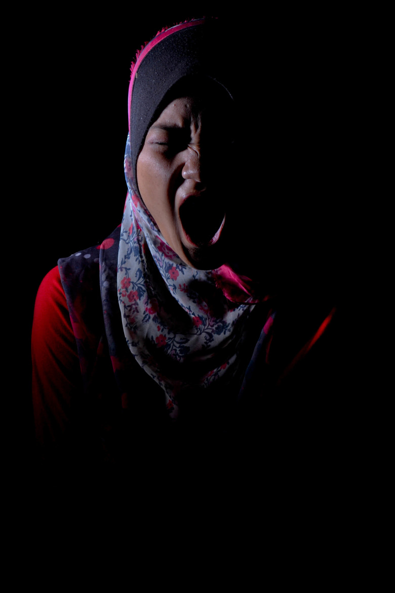 Photograph The Scream by Wafy Adam on 500px