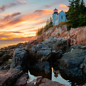 Bass Harbor Sunset by Alex Filatov (Filatov)) on 500px.com