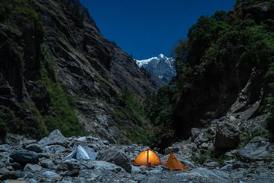 Full moon camp by Tatiana Kolgunova on 500px.com