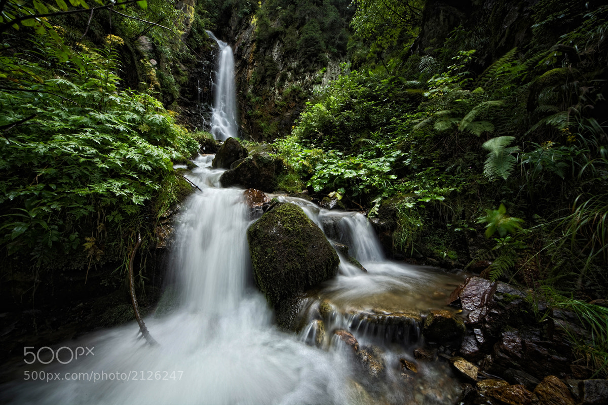 Photograph The Waterfall by Andrea Pettinari on 500px