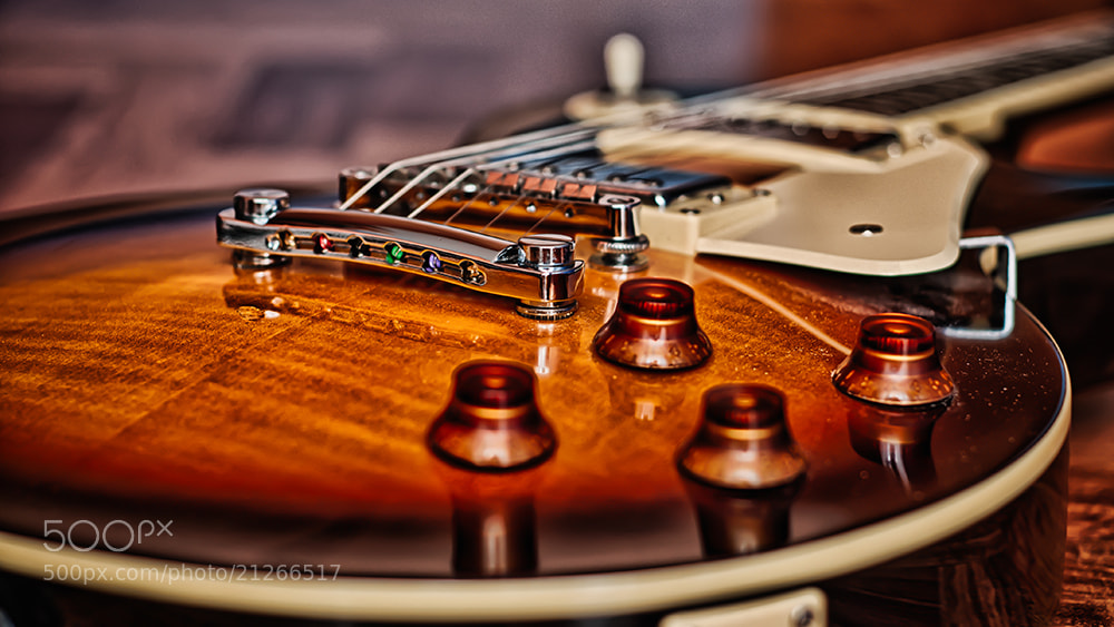 Photograph les paul by Davide Romanelli on 500px