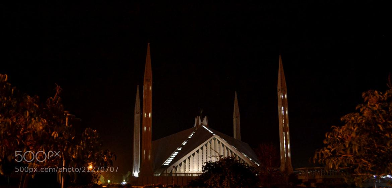 Photograph Faisal Mosque by Khubaib Sarfraz on 500px