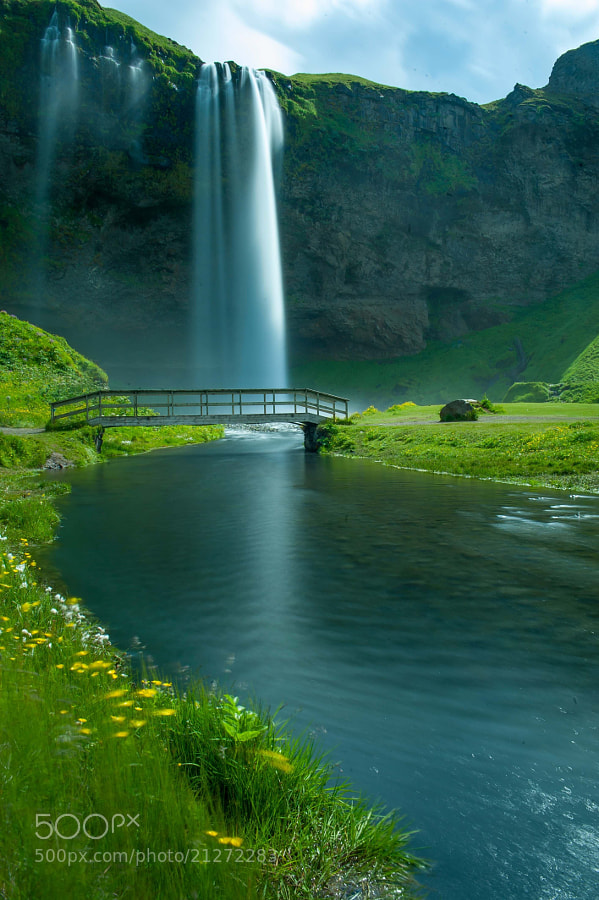 Photograph Seljalandsfoss Falls, Iceland by varadhan ganapathy on 500px