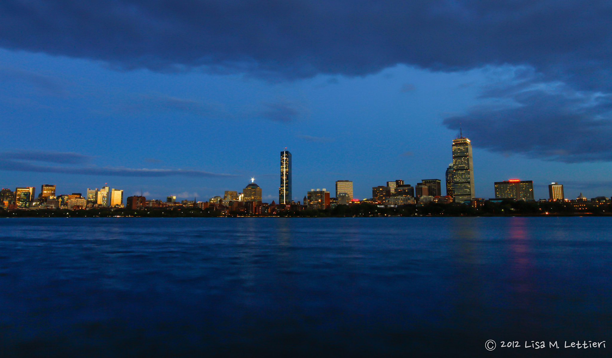 Photograph Blue Hour in Boston by Lisa Lettieri on 500px