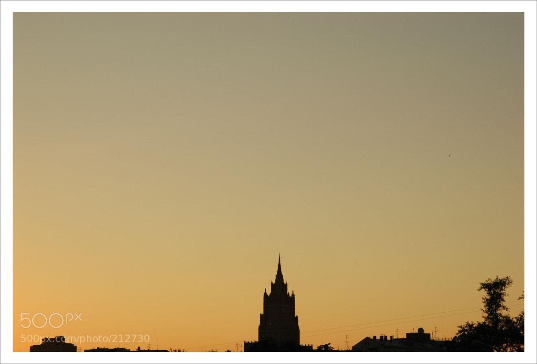 Photograph Московские вечера by Alexander Usoltsev on 500px