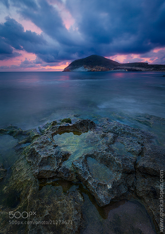 Photograph Rock and clouds by Gorka Lopez on 500px