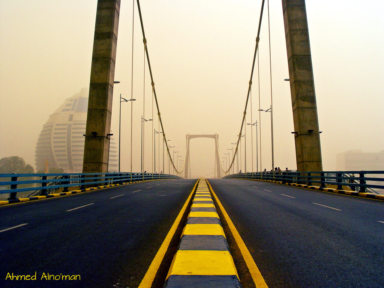 Photograph  Yellow bridge  by Ahmed  Elno'man on 500px