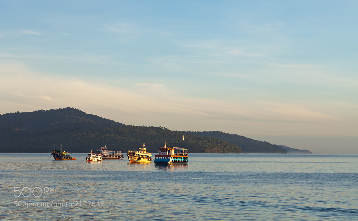 Photograph Fishing boats in the morning by S A  I on 500px