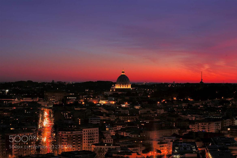Photograph Tramonto Romano by Paolo Trofa on 500px