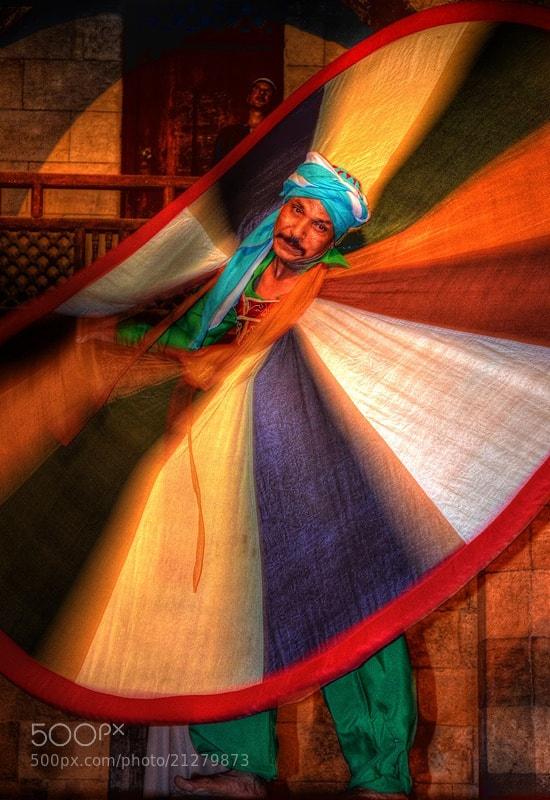 Photograph Sufi Dance, Wekalet El Ghoury, Cairo, Egypt by Aliaa Ibrahim on 500px