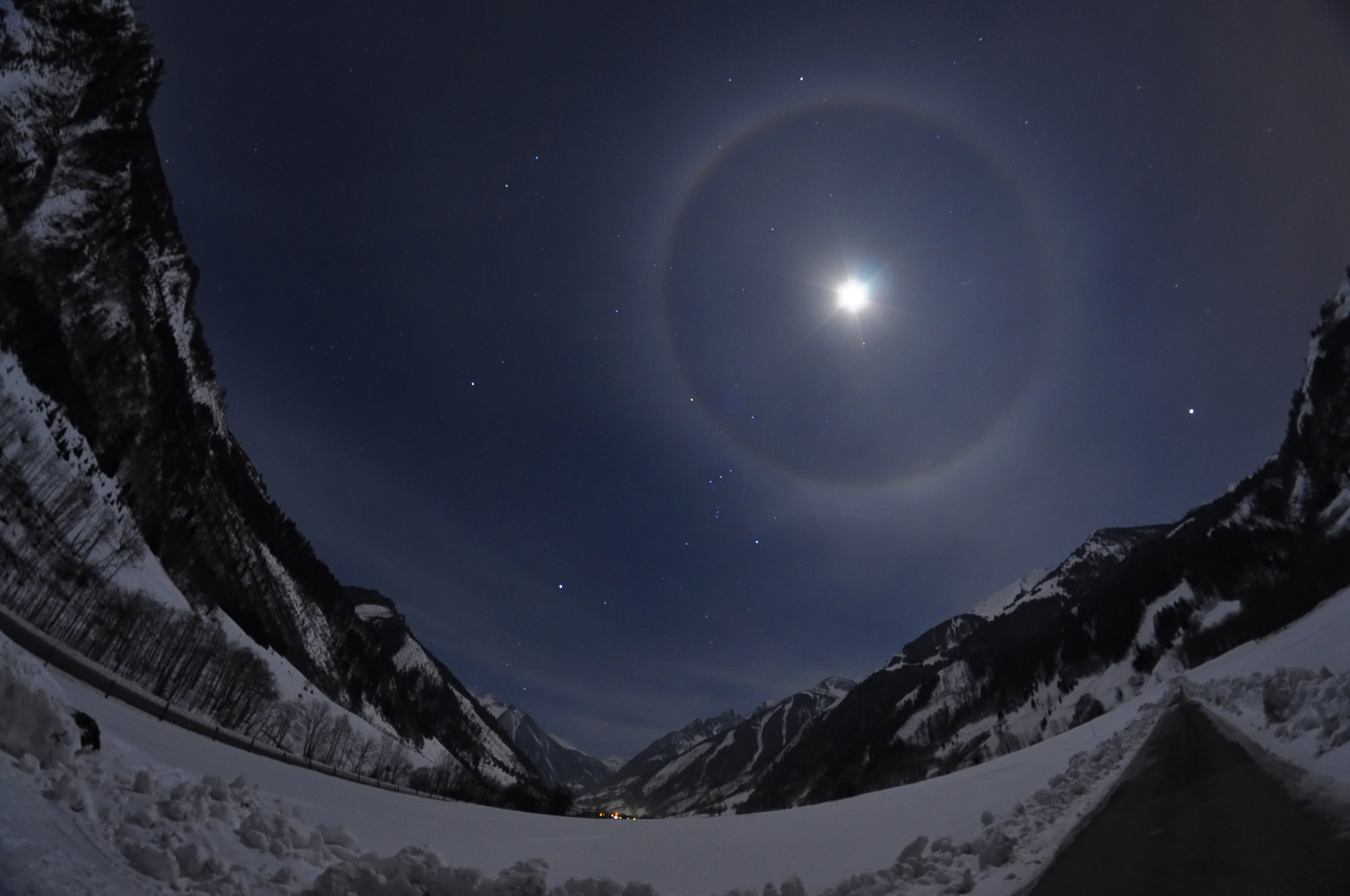 Photograph Lunar Halo by Patrick Hochleitner on 500px