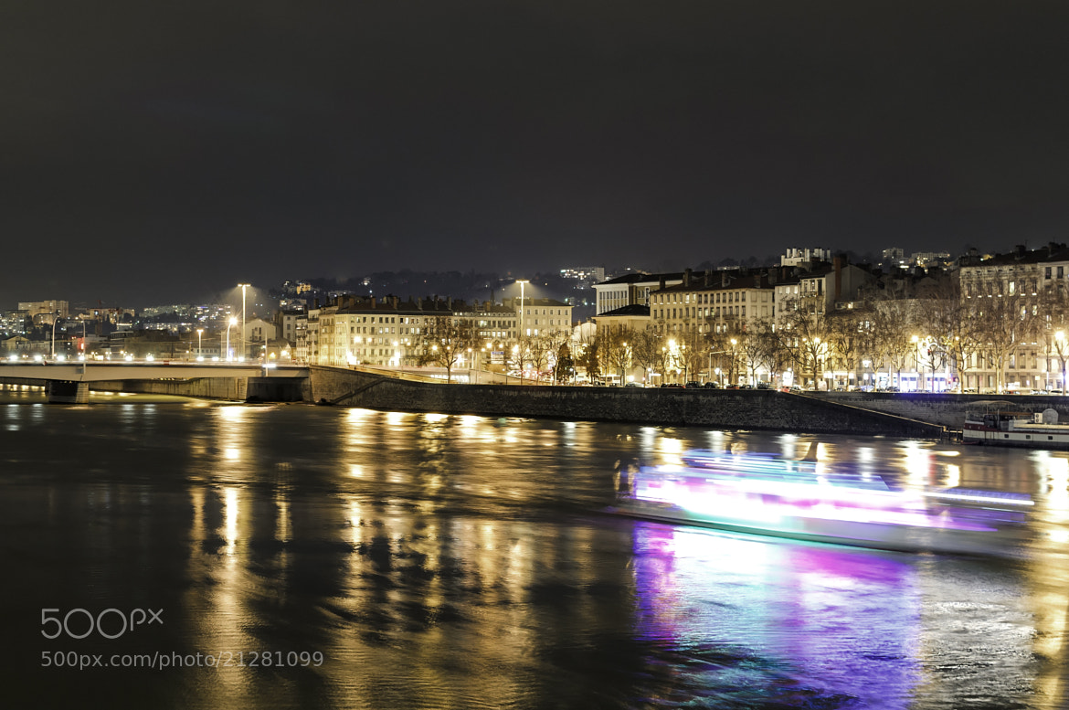 Photograph Lyon by Night by Vincent Charvet on 500px