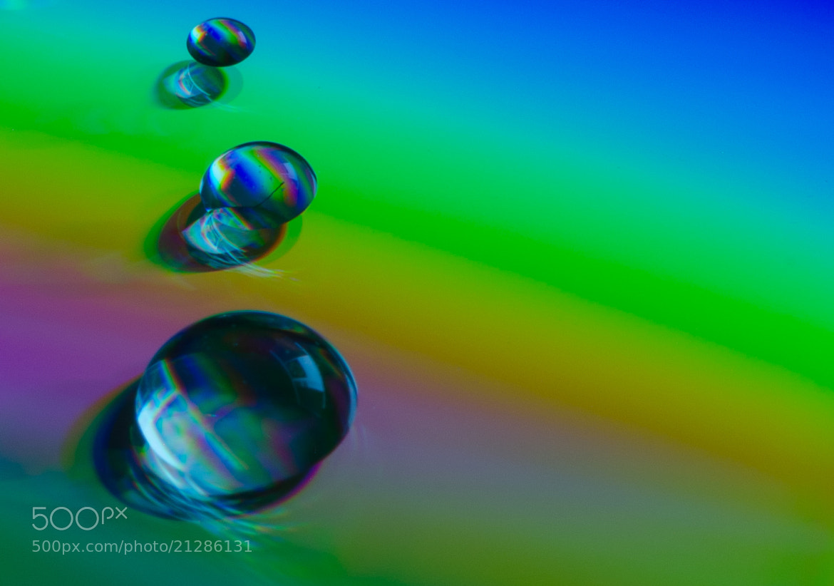 Photograph Droplet Rainbow by Alexander Silver on 500px