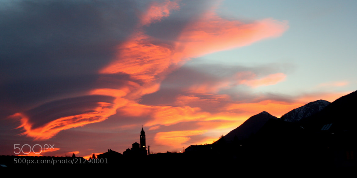 Photograph The sky is about to swallow the earth by Daniela Balgera on 500px